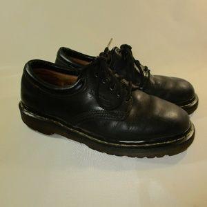 Dr. Martens Shoes - Dr. Martens Black Leather Shoes Women US 7